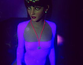 Cyber Girl 3D model