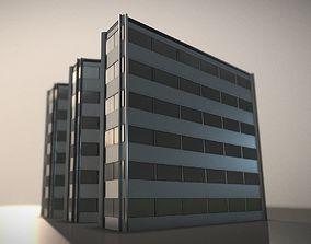 3D model City Building Design W-1