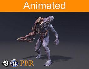 Character Parazite 3D asset