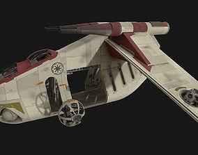 3D model Star Wars - LAAT