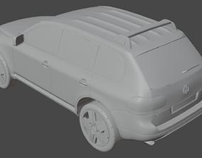 3D VW Touareg