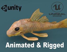 3D model Sailfin Catfish