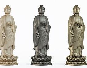 Buddha sculpture statue 3D