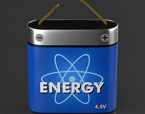 3D asset Pocketable Battery