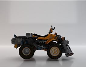 3D model Quad ATV