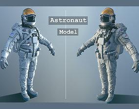 3D asset game-ready Astronaut