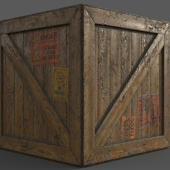 Big Old Wooden Box