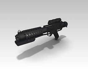 Star Wars E-11 Blaster 3D printable model