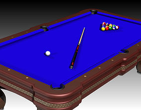 Billiards Table 3D printable model