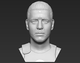 Gladiator Russell Crowe bust 3D printing ready stl obj