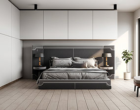 3D model Simple Bedroom - Corona