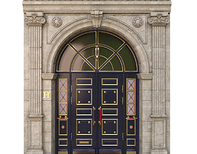 3D model Entrance classic door
