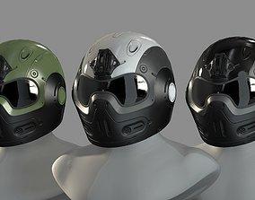 3D asset FVX400 Helmet