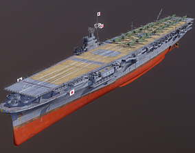 3D Zuikaku1944 The aircraft carrier Japanese warships