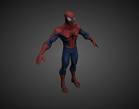 3D Spiderman Scene