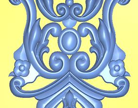 Door decoration 3D model stl