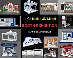 Exhibition stall collection 14 Models Collection 3D model