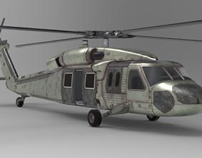 Blackhawk 3D asset realtime