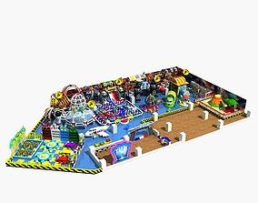 3D model Amusement park 07 ground