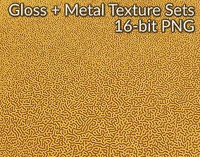 3D model Seamless Brain Coral Texture Set 4k PBR