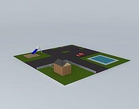 A Park 3D model