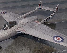 DeHavilland DH-100 Vampire FB Mk-5 3D model