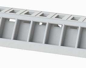 3D printable model USB Holder Extended for 11 USB slots