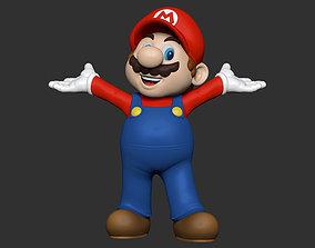 toy 3D printable model Super Mario