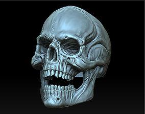 jaw 3D print model Skull Ring