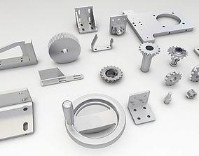 3D model Engineering Parts V2