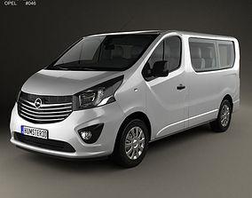 Opel Vivaro Passenger Van 2014 3D