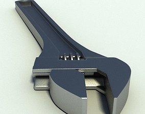 3D model Adjustable Spanner