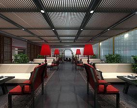 3D Modern Chinese Restaurant