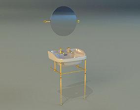 lavatory 3D Washbasin