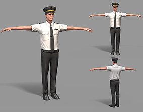 Pilot 3D asset
