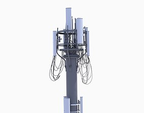 3D model CELL SITE tower