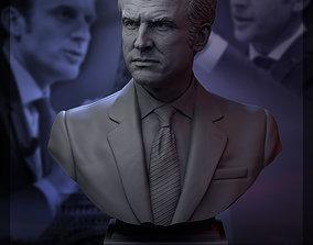 3D printable model Emmanuel Macron