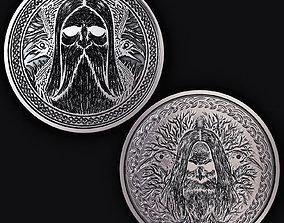 Scandinavian Coin 3D print model