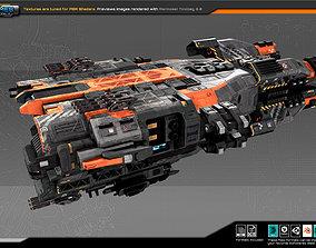 3D asset Federation Destroyer GX3