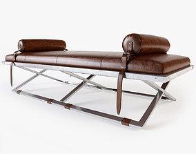 Plantation design - Mister X bench 3D model