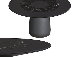 Baleri ROUNDEL table black 3D