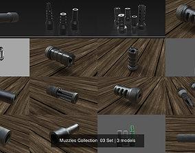 3D Muzzles Collection 03 Set