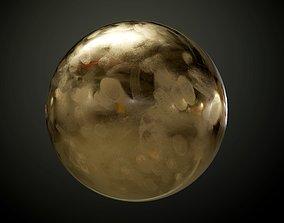 Metal Bronze Seamless PBR Texture Dirty 3D