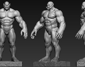 Orc Anatomy 3D printable model