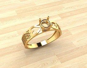 3D printable model Ring v-4
