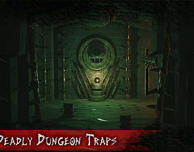 Deadly Dungeon Traps 3D model