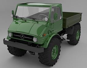 3D model Mercedes Benz Unimog 406