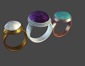 Ring Anguthi 3D asset
