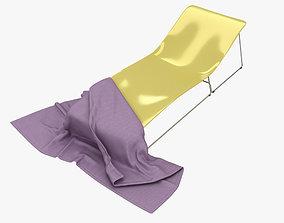 3D model Viteo Lounge Chair