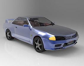 3D model Nissan Skyline GTR